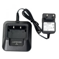 Spek Baofeng Walkie Talkie Battery Charger For Bf Uv5R Black