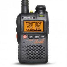 Baofeng Walkie Talkie Dual Band Two Way Radio 99CH 2W UHF+VHF - BF-UV3R - Black