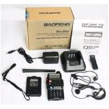 Berapa Harga Baofeng Walkie Talkie Handy Talkie Dual Band Radio 5W 5Km Outdoor Indoor Ht Earphone Docking Charger Uv5R Baofeng Di Banten