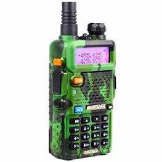 Harga Baofeng Walkie Talkie Ht Handy Talkie Radio Ht Komunikasi Uv5R Uv 5R 1 5 Lcd 5W 128 Ch Dual Band Uhf Vhf Headset Free Camouflage Loreng Army Hijau Paling Murah