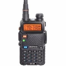 Review Toko Baofeng Walkie Talkie Ht Handy Talkie Radio Ht Komunikasi Uv5R Uv 5R 1 5 Lcd 5W 128 Ch Dual Band Uhf Vhf Headset Free Hitam Online