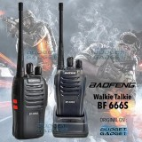 Harga Baofeng Walkie Talkie Single Band 5W 16Ch Uhf Bf 666S