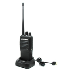 Review Toko Baofeng Walkie Talkie Single Band 5W 16Ch Uhf Vs 51 Black Online