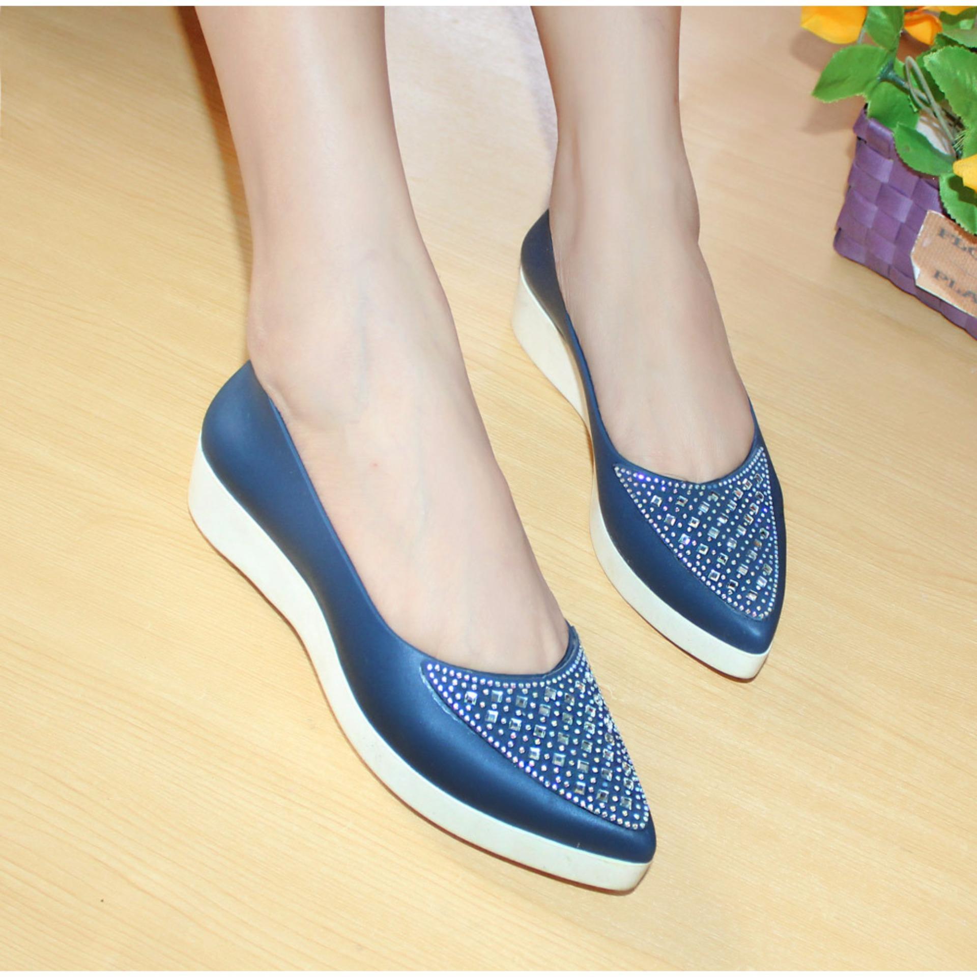 Diskon Bara Bara Jellyshoes Jelly Shoes Import A01 Biru Bara Bara