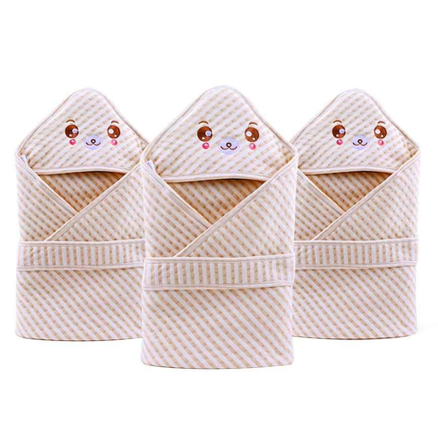 Baru Bayi Baru Lahir Baby Kid Cotton Lembut Selimut Tidur Bungkus Handuk-Internasional