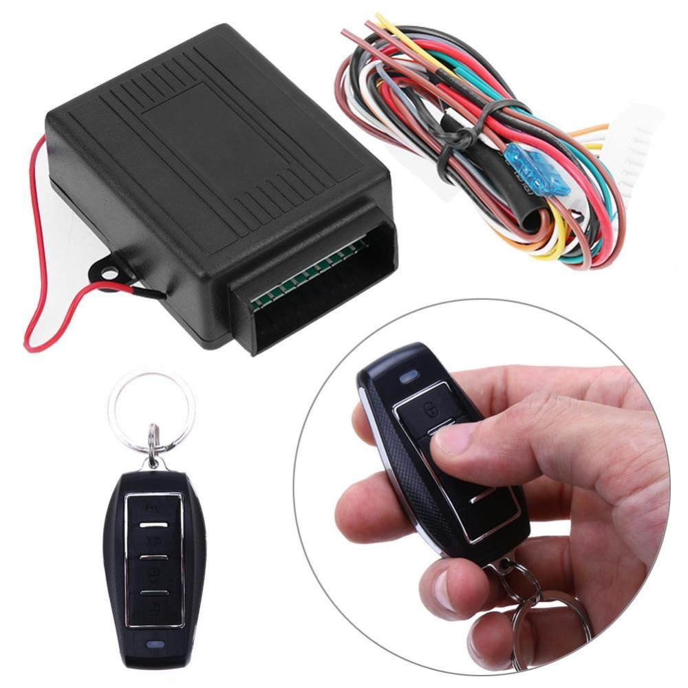 Baru Car Door Lock Keyless Entry Sistem Auto Remote Control Central Kit-Intl