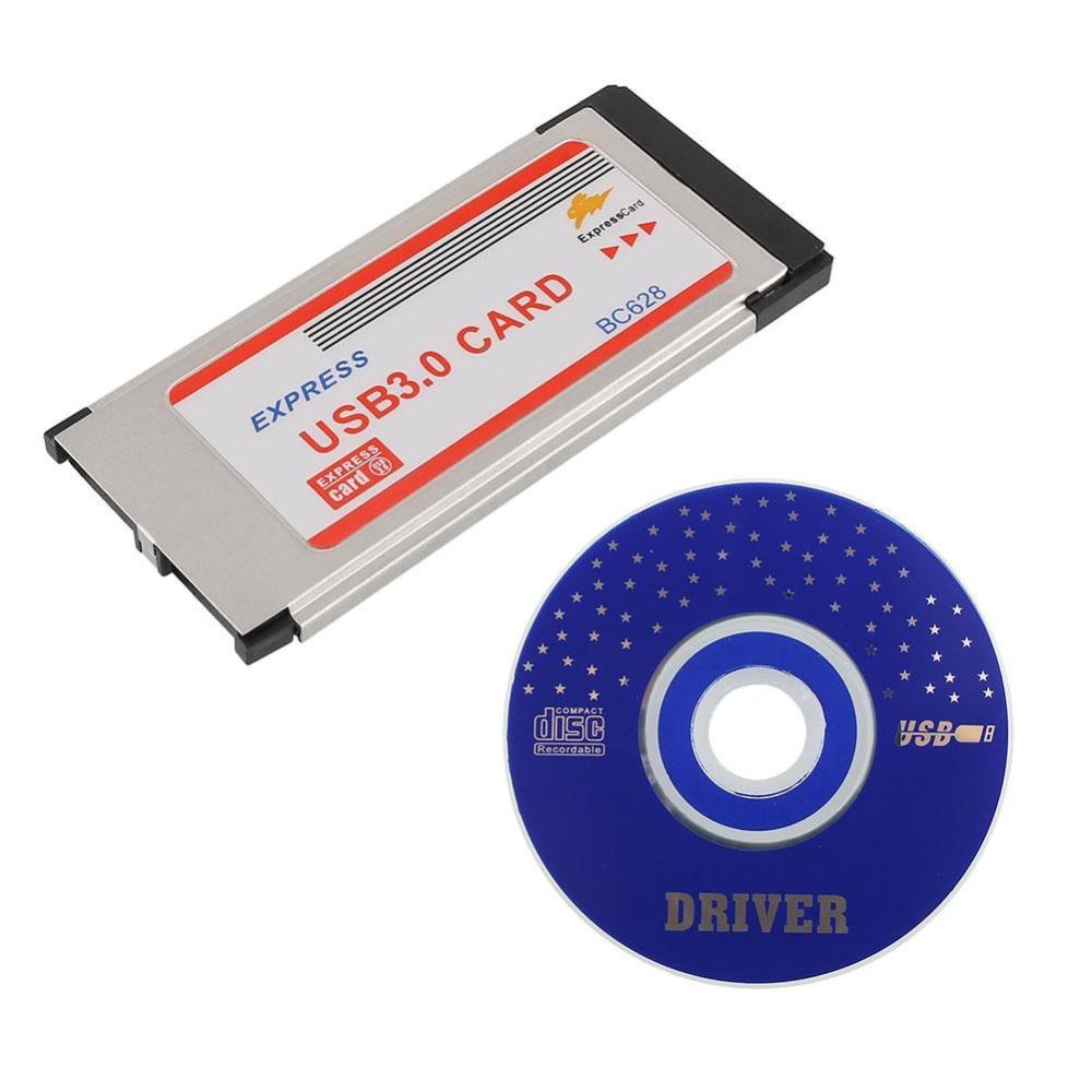 Jual Baru Express Kartu Expresscard 34Mm Untuk 2 Port 2 Port Usb 3 Adaptor Kartu Bc628 Intl Tiongkok Murah