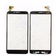 Baru Hitam Layar Sentuh Digitizer untuk Alcatel One Touch Idol 2 6037 OT6037 6037Y Panel Kaca Depan Lensa + 3 M Lem-Intl