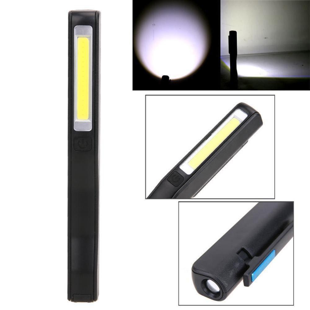 Jual Baru Mini Cob Led Pen Light Klip Magnet Usb Rechargeable Senter Kerja Intl Murah Di Tiongkok