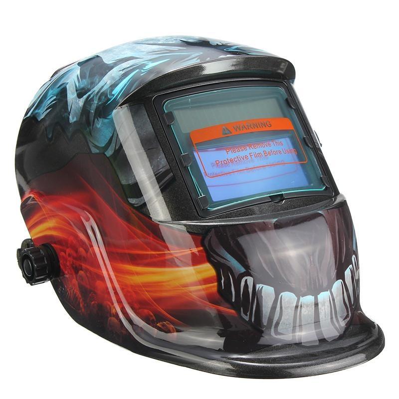 Spek Baru Solar Auto Menjadi Gelap Welding Helmet Tig Mig Mengelas Welder Lensa Grinding Masker Intl