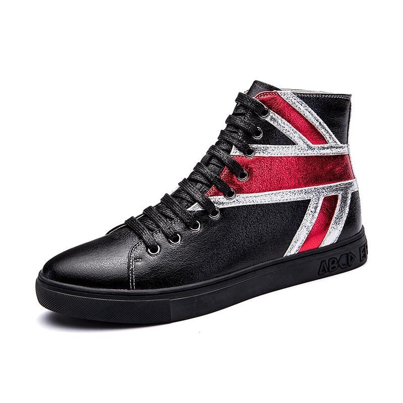 Spesifikasi Baru Tinggi Sepatu Merah Sepatu Shoes Inggris Fashion Perak Pria Boots Intl