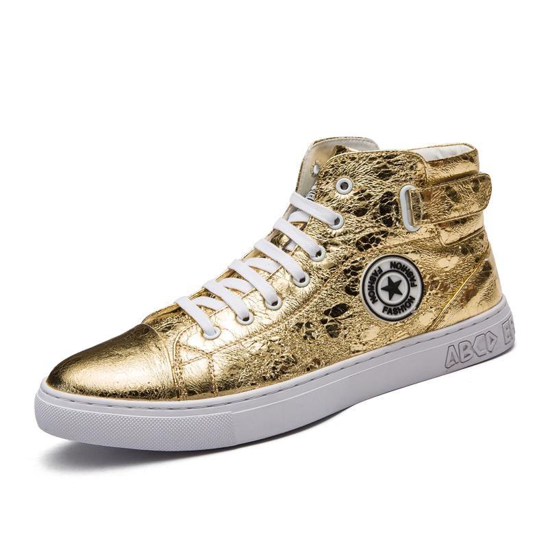 Harga Baru Tinggi Sepatu Merah Sepatu Shoes Inggris Fashion Perak Pria Boots Intl Satu Set