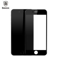 Toko Baseus 23 Mm Tempered Kaca 9 H Kekerasan Pet Lembut 3D Melengkung Penuh Cover Screen Protector Untuk Iphone 7 Black Anti Biru Lengkap