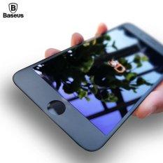 Toko Jual Baseus 23 Mm 3D Frosted Edge Tempered Glass Screen Protector 9 H Anti Cahaya Biru Untuk Iphone 6 6 S Plus Hitam Intl