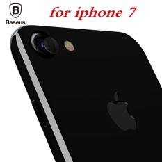 BASEUS 2 Pcs Transparan Tempered Glass Lensa Telepon Screen Protector Film untuk IPhone 7-Intl