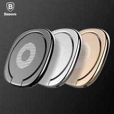 Promo Baseus 360 Jari Cincin Meja Berdiri Pemegang Cocok Universal Ponsel Untuk Magnetik Mobil Bracket Mewah Phone Holder Stand Intl Di Tiongkok