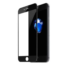 Toko Baseus 3D Melengkung Silk Print Full Screen Tempered Glass Protector Film Untuk Iphone 7 Plus 5 5 Inch Hitam Intl Baseus Online