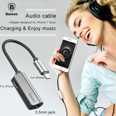 Spesifikasi Baseus Kabel Audio Adapter Untuk Iphone 7 Earphone Kabel Untuk Apple Untuk 3 5Mm Headphone Jack Adapter Untuk Iphone 7 Plus Aux Kabel Intl Baru