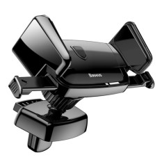 BASEUS Mobil Dudukan Penahan untuk iPhone Samsung Seluler Telepon Penahan Penyangga Udara Ventilasi Dudukan Mobil Telepon Penahan Otomatis Klip Telepon dudukan Pemegang-Internasional