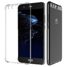 BASEUS Case Cover Clear Silikon Lembut TPU Ultra Tipis Mobile Phone Case untuk Huawei Ascend P10 Plus (Warna: C0)-Intl