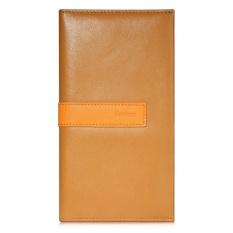 BASEUS Seri Chic Kantung Dompet Kulit Case untuk IPhone 6 S 6-Brown (Warna: C0) -Intl
