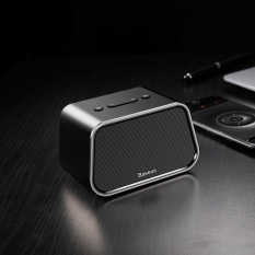 Harga Termurah Baseus Encok E02 Trapezoid Mini Bluetooth Speaker Dukungan U Disk Tf Card Aux Input Hitam Intl