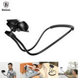 Promo Baseus Fleksibel Mobile Phone Holder Kalung Panjang Lengan Lazy Bracket Pemegang Smartphone Stand Untuk Iphone Ipad Air Tablet 4 10 Inch Intl