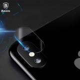 Beli Baseus For Iphone X 15Mm Tempered Glass Lens Protector Camera Len Glass Film For Iphonex Back Lens Protection Film 9H Glass Intl Murah