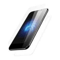BASEUS untuk iPhone X/10 5.8 Inch Perlindungan Menyeluruh Depan + Belakang Tempered Pelindung Kaca Film-Transparan-Internasional