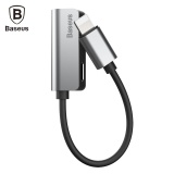 Toko Baseus L32 8 Pin Ke Adaptor Audio Headphone Charging Sync Data Intl Lengkap