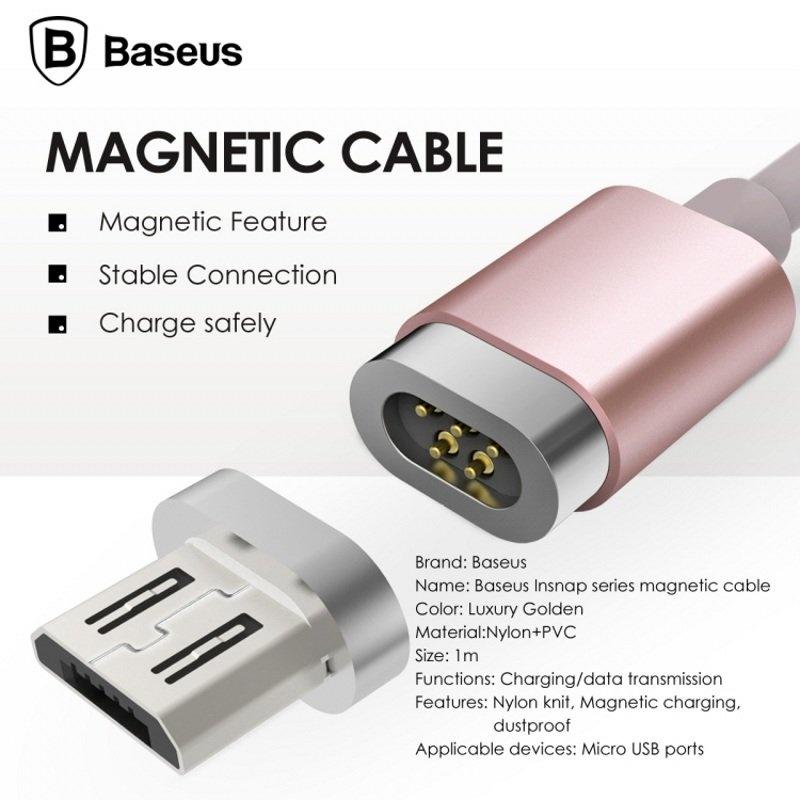 Spesifikasi Baseus Magnetic Micro Usb Adaptor Kabel Data Sync Pengisian Kabel Untuk Samsung Huawei Htc Sony Xiaomi Intl Merk Baseus