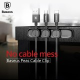 Beli Baseus Magnetic Tpu Cable Clip Desktop Tidy Cable Organizer Usb Charger Cable Holder Car Magnetic Charging Cable Winder Stand Intl Baseus