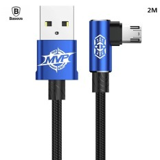 Baseus Mvp Elbow 1 5A 2M Micro Usb Data Sync Charge Cable For Samsung Sony Lg Etc Intl Tiongkok