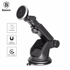 Harga Baseus Solid Series Telescopic Magnetic Suction Bracket Car Mount Phone Holder Intl Terbaru