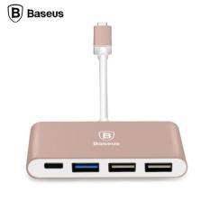 BASEUS Type-c Ke Tipe-c dan 3 Port USB HUB Adaptor untuk MacBook Baru Google RG- INTL