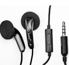 Jual Basic Earphone Eb12 Super Bass Hitam Original