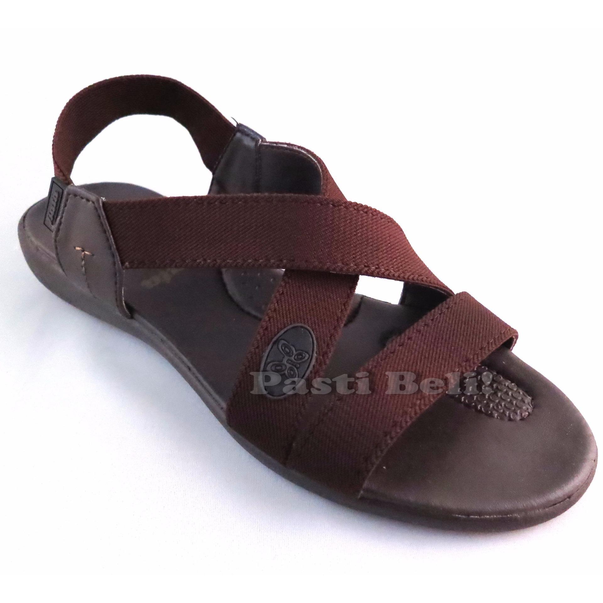 Toko Bata Sandal Wanita Cantik Coklat 661 4500 Murah Di North Sumatra