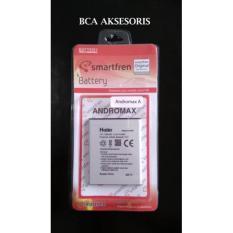 BATERAI 1500MAH HAIER SMARTFREN ANDROMAX A - H15408 ORIGINAL - FREE HOLDER RING