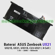 Baterai ASUS Zenbook UX21 UX21E- UX31- UX31E- C23-UX21 4 Cell