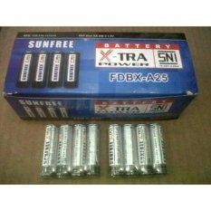 Baterai / Batery / Batere A2 / Batre AA Isi 1 Pack (60pcs) Kualitas Bagus 1 Pabrik Dengan Merek Hannochs cocok untuk remot jam dan mainan