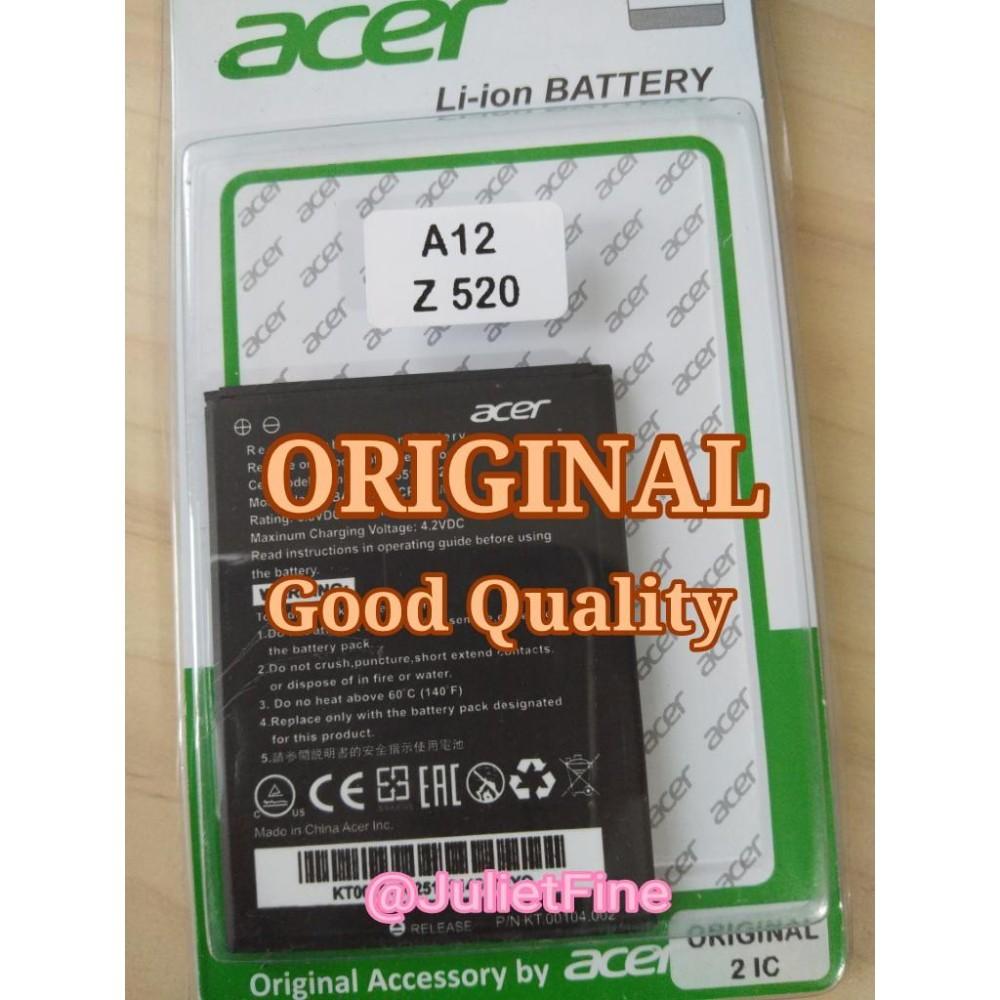 Pencarian Termurah ORIGINAL Baterai Batre Battre Battery Batery Batrai Batrei Batere Acer Liquid Z520 BAT-