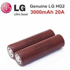 Baterai Battery Batre Vapor Vape-Rokok Electrik 18650-LG HG2 3000mah 35A