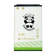 Baterai/Battery Double Power Double Ic Rakkipanda Blackberry Gemini 9300 / BB Gemini 9300 CS2 2400mAh
