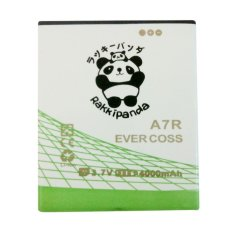 Baterai/Battery Double Power Double Ic Rakkipanda Evercoss A7R / Cross A7R [4000mAh]