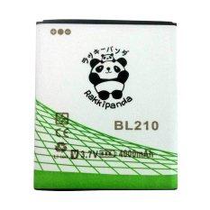 Baterai/Battery Double Power Double Ic Rakkipanda Lenovo S820 / A536 / S650 / A606 / A328 / Lenovo BL210 [4000mAh]