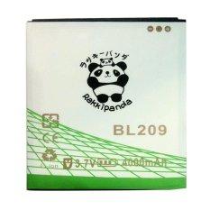 Baterai/Battery Double Power Double Ic Rakkipanda Lenovo A516 / A706 BL209 [4000mAh]