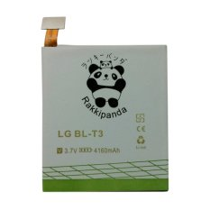 Baterai/Battery Double Power Double Ic Rakkipanda Lg Optimus Vu / Lg BLT3 4160mAh