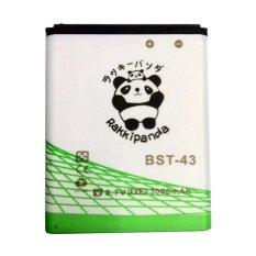 Jual Baterai Battery Double Power Double Ic Rakkipanda Sony Ericson J108 Bst43 3000Mah Branded Murah