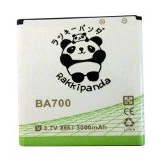 Jual Baterai Battery Double Power Double Ic Rakkipanda Sony Xperia M Neo Ray Sony Ba700 3000Mah Lengkap