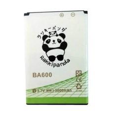 Jual Baterai Battery Double Power Double Ic Rakkipanda Sony Xperia U Sony Ba600 3000Mah Branded Original